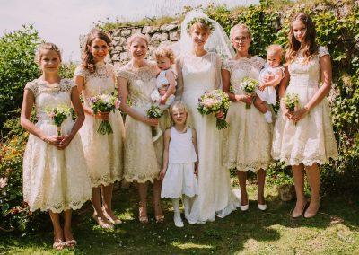 Bridesmaids' posies