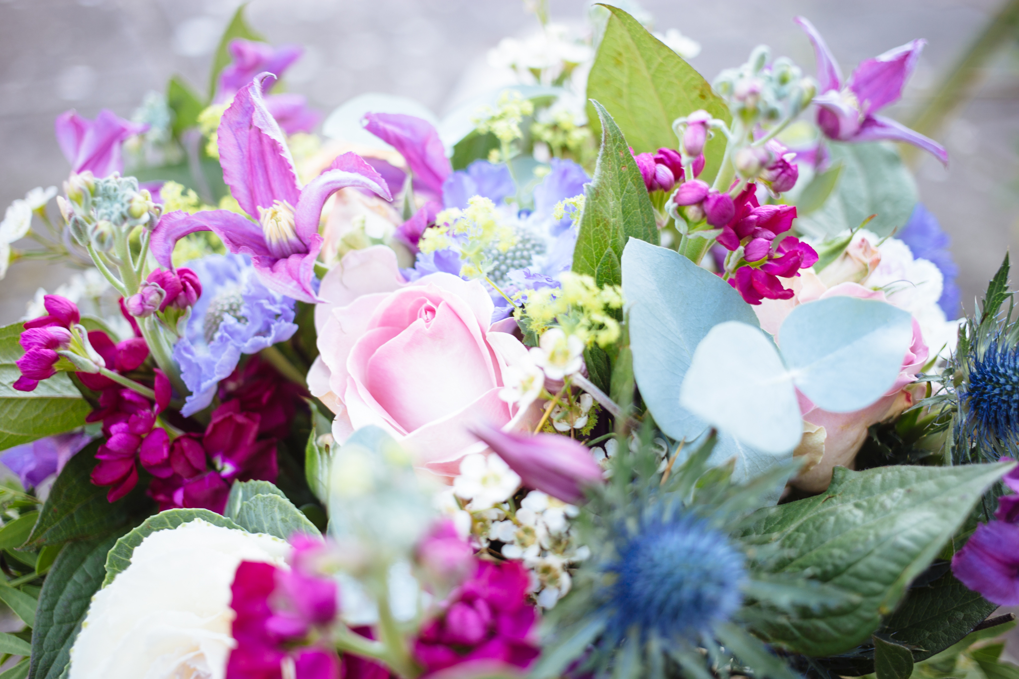 Flowers For Sympathy By The Sea Pembrokeshire Florist