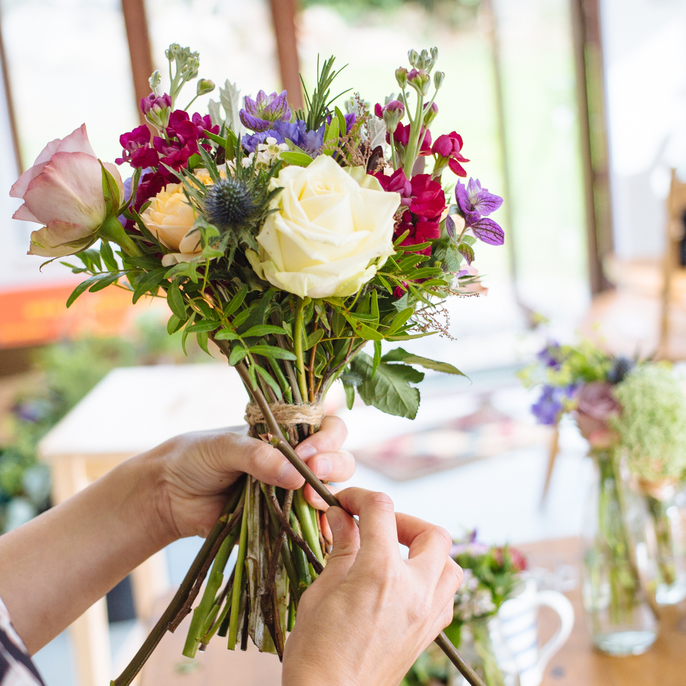 One to One - Flower Workshop • By The Sea