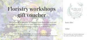 By the sea gift voucher