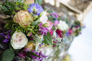 Wedding bouquet from By the sea flowers