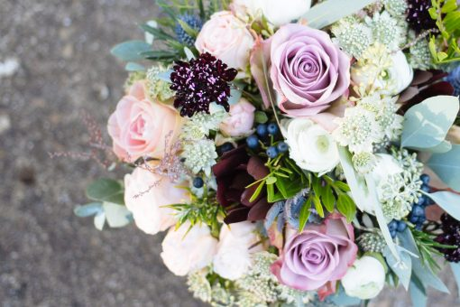 Learn to create wedding flowers